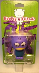 Koolby and Friends - Series 1 - (Purple w Eyelashes) Bigatron, Koolby and Friends, Action Figures, 2008, animated, art