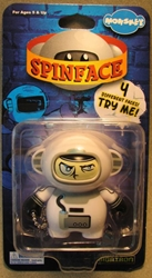 Monskey - Spinface Series1 - Kosmo (astronaut) Bigatron, Monskey, Action Figures, 2008, animated, art