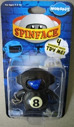 Monskey - Spinface Series1 - Psy-kik (8-ball) Bigatron, Monskey, Action Figures, 2008, animated, art