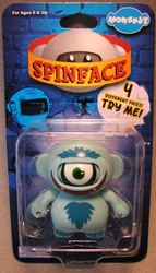 Monskey - Spinface Series1 - Cyclo (happy 1-eyed dude) Bigatron, Monskey, Action Figures, 2008, animated, art