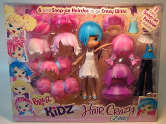 Bratz Kidz Hair Crazy - Cloe (blue hair) MGA, Bratz, Dolls, 2008, fashion, toy