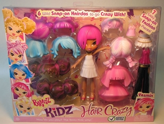 Bratz Kidz Hair Crazy - Yasmin (pink hair) MGA, Bratz, Dolls, 2008, fashion, toy