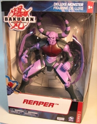 Bakugan Deluxe Monster - Reaper Spin Master, Bakugan, Action Figures, 2008, fantasy, game