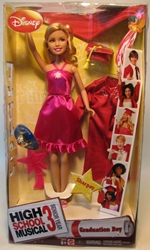 High School Musical 3 - Graduation Day Sharpay (+ring) Mattel, High School Musical, Dolls, 2008, teen, tv show