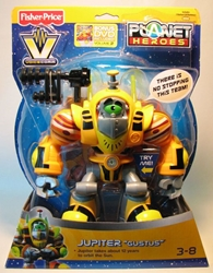 Fisher-Price Planet Heroes VoiceComm - Jupiter Gustus