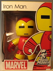 Mighty Muggs 6 inch Vinyl fig: Marvel - Iron Man Hasbro, Marvel, Action Figures, 2008, superhero, comic book