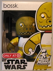 Mighty Muggs 6 inch Vinyl fig: Star Wars - Bossk Hasbro, Star Wars, Action Figures, 2008, scifi, movie