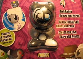 Funkeys 2.5 inch fig - Dream State: Waggs (dog)(grey)