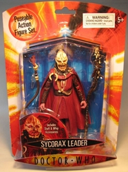 Doctor Who Figure - Sycorax Leader Character, Doctor Who, Action Figures, 2006, scifi, tv show