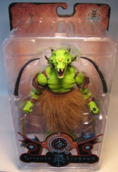 Four Horsemen 7th Kingdom - Ggruxx Green Mutant 9 inch Four Horsemen, 7th Kingdom, Action Figures, 2002, fantasy