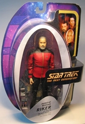 Diamond Select Star Trek All Good Things Admiral Riker Diamond Select, Star Trek, Action Figures, 2005, scifi, tv show, movie