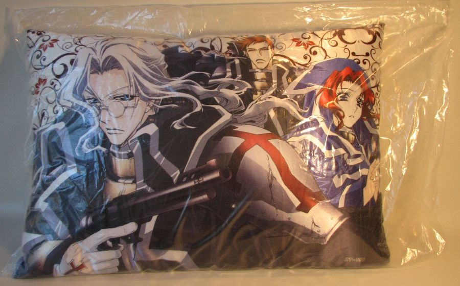Trinity Blood Pillow Abel Nightroad (with gun) China, Trinity Blood, Plush, 2009, fantasy, japan