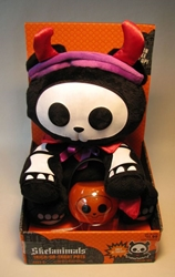 Skelanimals 8 inch plush - ChungKee in Devil costume