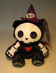 Skelanimals 6 inch plush - Kit in Witch Disguise