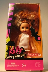 Barbie Kelly Merry Monsters 4.5 inch Miranda Bride of F Mattel, Barbie, Dolls, 2008, fashion, toy