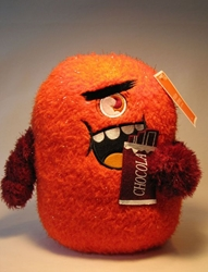 Cute Plush Monster - 10 inch Schmorg (orange) Target, Halloween, Plush, 2009, horror, halloween, movie