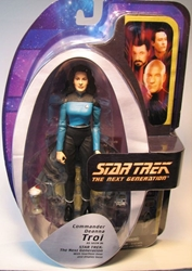 Diamond Select Star Trek TNG Commander Deanna Troi Diamond Select, Star Trek, Action Figures, 2006, scifi, tv show, movie