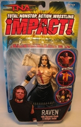 TNA Impact! Raven with Straight Jacket Marvel Toys, TNA, Wrestling, 2006, wrestling, pro league