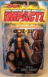 TNA Impact! Wildcat Chris Harris in Entrance Gear Marvel Toys, TNA, Wrestling, 2006, wrestling, pro league