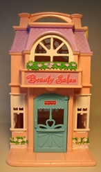 Fisher-Price Sweet Streets Petshop + Salon (loose) Fisher-Price, Sweet Streets, Preschool, 2001, girls