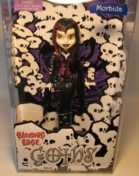 Bleeding Edge Goths 7 inch Series 1 Morbida  Bleeding Edge, Goths, Action Figures, 2003, fashion, counterculture