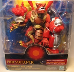 Duel Masters - Firesweeper Burning Hellion 6 inch fig Hasbro, Duel Masters, Action Figures, 2003, fantasy, game
