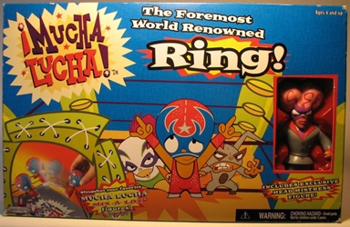 Mucha Lucha Ring with Exclusive Headmistress Figure