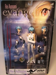 Evangelion Rei Ayanami 6.7 inch Figure by Kaiyodo Kaiyodo, Evangelion, Anime Figures, 2000, anime, japan