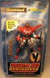 McFarlane Youngblood - Sentinel 6 inch fig McFarlane, Youngblood, Action Figures, 1995, superhero, comic book
