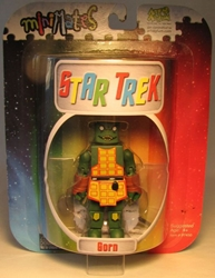 Art Asylum Minimates Star Trek 3 inch Gorn Alien Art Asylum, Star Trek, Action Figures, 2002, scifi, tv show, movie