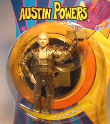 Mezco Austin Powers - Goldmember 6.25 inch fig Mezco, Austin Powers, Action Figures, 2002, comedy, movie