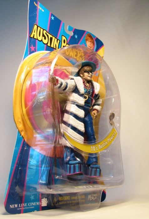 Mezco Austin Powers - Austin Powers in Fur Coat 7 inch - 4926-260CCCGUG