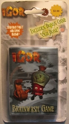 IGOR Brainbash Card Game - 52 cards Gold Holdings, Igor, Action Figures, 2008, fantasy, movie