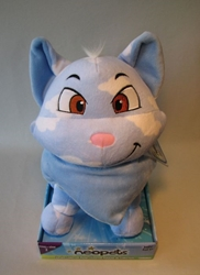 Neopets Plush - Series 2 Cloud Wocky (blue cat) 11 inch