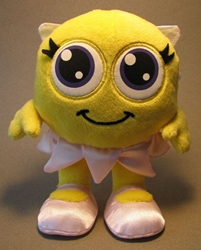 Cute SmileyCentral.com 7 inch plush Smiley - fairy wing SmileyCentral, Smiley Cental, Plush, 2009, animated