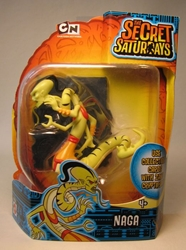 Secret Saturdays - Cryptid Naga fig (snake) Mattel, Secret Saturdays, Action Figures, 2009, adventure, fantasy, tv show