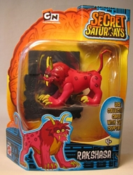 Secret Saturdays - Cryptid Rakshasa (red lion) Mattel, Secret Saturdays, Action Figures, 2009, adventure, fantasy, tv show