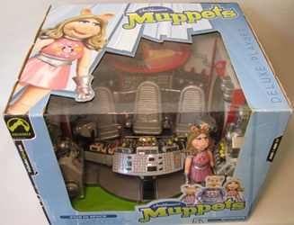 Muppets Series 4 Pigs in Space Dlx Playset w Ms Piggy