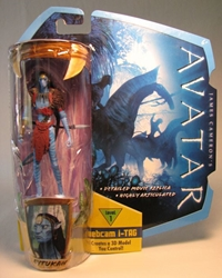 Avatar 4 inch Eytukan w iTag  Mattel, Avatar, Action Figures, 2009, scifi, movie