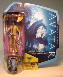 Avatar 4 inch Avatar Jake Sully RDA w iTag  Mattel, Avatar, Action Figures, 2009, scifi, movie