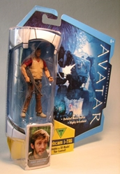 Avatar 4 inch Xenoanthropologist Norm Spellman Mattel, Avatar, Action Figures, 2009, scifi, movie
