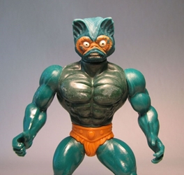 Masters of the Universe - Mer-Man 5.5 inch 1981 loose Mattel, Masters of the Universe, Action Figures, 1983, fantasy, cartoon