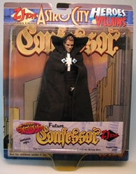 Astro City - Future Confessor 6 inch figure Toy Vault, Astro City, Action Figures, 1998, scifi, comic book