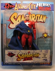 Astro City - Samaritan at Work  6.5 inch figure Toy Vault, Astro City, Action Figures, 1998, scifi, comic book
