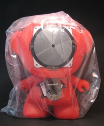 Monskey - Giant Series 1 - 8 inch Spike (red speaker) Bigatron, Monskey, Action Figures, 2008, animated, art