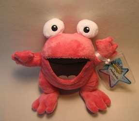 Neopets small plush - Series 3 Pink Quiggle (frog) Jakks, Neopets, Plush, 2008, cute animals, online site
