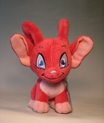 Neopets small plush - Series 5 Red Acara