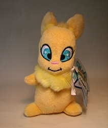 Neopets small plush - Series 5 Yellow Usul (squirrel) Jakks, Neopets, Plush, 2008, cute animals, online site