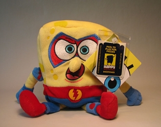 Sponge Bob Square Pants small plush - The Absorber