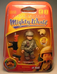 Mighty World 8545 Lt Bull Titanworks, Mighty World, Action Figures, 2009, adventure